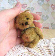 Teddy bear / Медвежонок Килли - теддик, авторская ручная работа, авторская игрушка, ручная работа