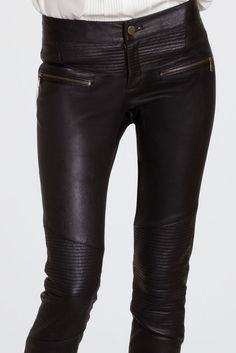 Liya Leather Pant  details | MARISSA WEBB fall13
