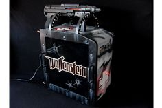 CustomPCMAX's homage to the remake of the classic first-person shooter, Wolfenstein 3D.