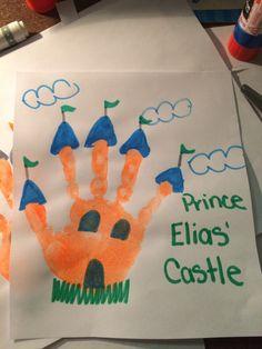 Handprint castle