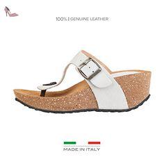 Superga , Escarpins pour femme - multicolore - Weiß, 38 EU - Chaussures superga (*Partner-Link)