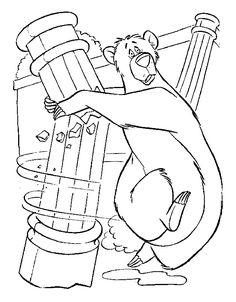 das dschungelbuch ausmalbilder 13 (mit bildern) | lustige