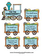 One of the founding moments in the Old Testament was when Moses was handed the Ten Commandments atop Mt. Sinai. Children can learn these ten commandments with simple motions or visuals. In the New Testament, Jesus confirms that we should obey God commands and that the two greatest commandments are to love the LORD, and …