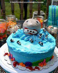 Amy's Confectionery Adventures: Shark Cake + Cinnamon Life Chocolate Cake