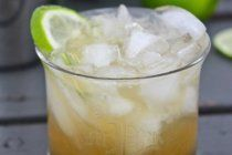 The Nor'easter: bourbon, lime juice, maple syrup, ginger beer.