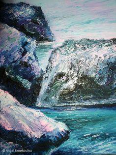 ΨΑΡΗΣ, λάδι σε καμβά, 18x24cm, 2007 PSARIS, oil on canvas, 18x24cm, 2007