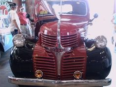 1947 Dodge Pickup Truck Flathead Six 3 Spd - YouTube