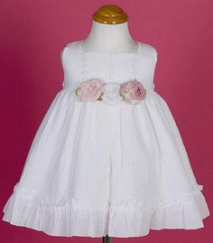 Cotton Dress for Baby Cotton Dresses, Floral Lace, Baby Dress, Bodice, Girl Outfits, White Dress, Flower Girl Dresses, Babies, Wedding Dresses