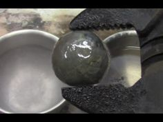 Super Cooled Nickel Ball in Gasoline - YouTube