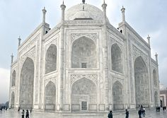 From the architect's sketchbook, The Taj Mahal, India, williwieberg - TRAVELINGCOLORS