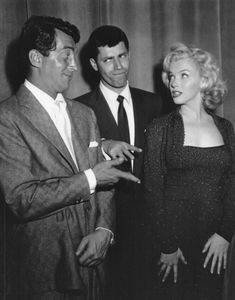 Dean Martin and Jerry Lewis meet  Marilyn Monroe, 1953