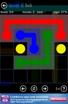 (*** http://BubbleCraze.org - If Tetris and Bubble Shooter had a kid, this would be it! ***)  flow free...a free iphone game