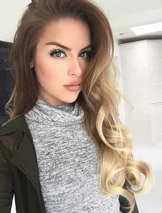 A great interest to long blonde hair can be explained by the fact that every other brunette wonders what it is to be a blonde and tries a blonde hair...