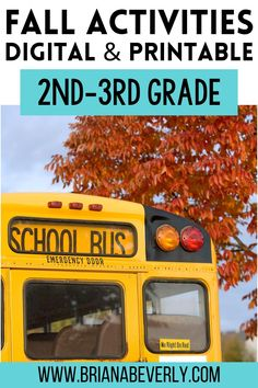 Fall resources for 2nd and 3rd grade elementary students. Digital math activities for fall in the classroom that are perfect for distance learning, or use printable math activities for classroom teaching or to send home during distance teaching. These seasonal, fall activities are engaging, fun ways for students to review math skills while being easy on teachers! Autumn Activities, Math Skills, Classroom Activities, Small Groups, Distance, Students, Printable, Teaching, Digital
