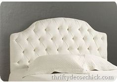 How to make your own tufted headboard - challenge accepted