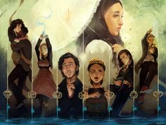 The Magicians Fanart Contest: Height of Power by Meirii on DeviantArt The Magicians Syfy, The Magicians Characters, The Magicians Margo, Magician Art, Illustration Tumblr, Character Art, Character Design, Fanart, Book Art