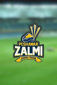 Mobile Background Wallpaper of Peshawar Zalmi Pakistan Super League Cricket team. Javed Afridi Owner, Darren Sammy team Captain and Mohammad Akram coach.