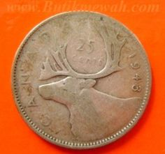 1943 Silver Canadian Quarter Coin Values Coins Old Rare
