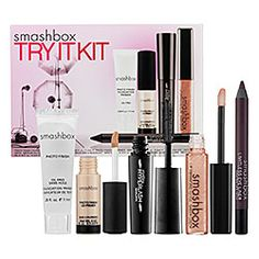 I swear the sephora website is addictive... this is why I never go in the store... I want everything.  Heard awesome stuff about their primer, this might be a good kit to give it a try (plus that eyeliner/lipgloss is gorg)