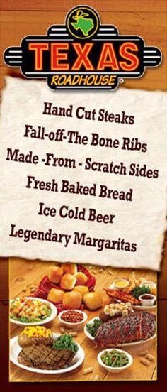 TRH Story Items Texas Roadhouse, Freshly Baked, Bread Baking, Ribs, Steak, Beef, Food, Baking, Meat