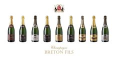 Champagne Breton Fils - the one the French keep for themselves, it's that good!