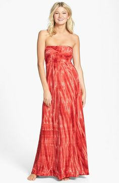 Hard Tail Long Strapless Dress available at #Nordstrom