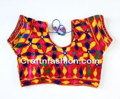Traditional Readymade Embroidered Blouse