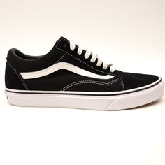 fa10601bed New Vans Mens Old Skool Black White Lace Up Canvas Sneaker Shoes Size 9   VANS