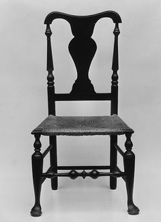 Side chair marked by Michael Smith, 1775-1800, New York City. The Metropolitan Museum of Art