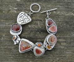 Treasure Bracelet One of a Kind handmade bracelet by SWALKDESIGNS