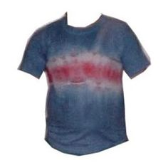 Tie-Dye Craft Pictures: Single Stripe Tie-Dyed T-Shirt