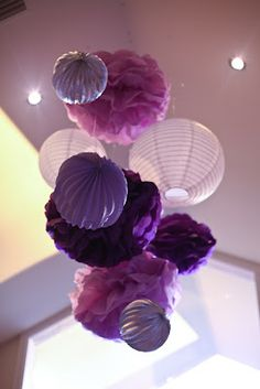 Little Big Company: Purple Themed Party by The Velvet Lily Florist