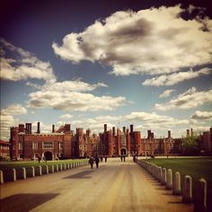 Hampton Court Palace in Hampton, Greater London