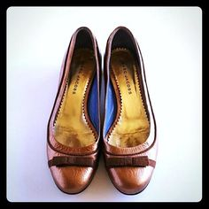 Marc Jacobs Copper Brown Patent Leather Flats. Get the must-have flats of this…
