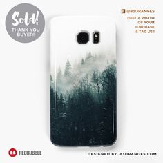 Just sold a Samsung Galaxy Phone Case with my artwork titled 'The Silent Forest'! Order yours or see all #redbubble products carrying this design here: http://www.redbubble.com/people/83oranges/works/22223835-the-silent-forest-redbubble-lifestyle?asc=u&p=samsung-galaxy-case