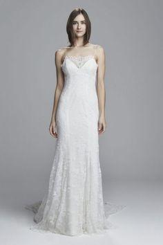 Vestidos de novia con encaje 2017: Luce sutil, delicada y elegante Image: 29