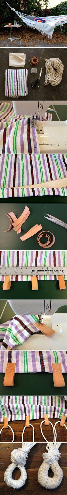 Diy Easy Hammock | DIY & Crafts Tutorials