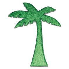 """12"""" Palm Tree  Cut Out for Centerpieces, party decorations and crafts. Order with a clear acrylic rod to use in a centerpiece arrangement. Get ideas at www.awesomeevent.com"""