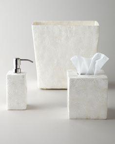 beautiful capiz shell vanity accessories on sale