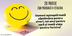 Felicitari de Ziua Fericirii - 20 Martie - Ziua Mondială a Fericirii - mesajeurarifelicitari.com Martie, Google