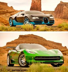 Bugatti and Corvette To Be New Autobots In Transformers 4 Movie!