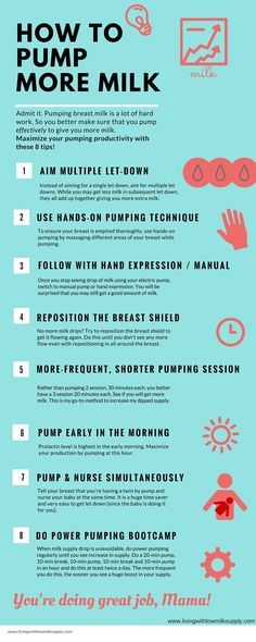 Pumping mamas, maximize your pumping productivity with these 8 pumping tips.