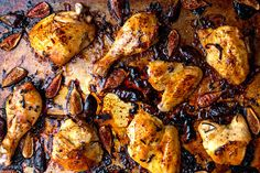 Roasted Figs and Chicken for a Sweet (and Savory) New Year - The New York Times