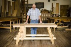 "I regularly get asked ""Joshua, can you recommend a workbench that is affordable, sturdy, portable, and easy to build?"" I used to laugh at the requests. But I recently discovered a historical 18th century workbench that was resurrected from the past by Will Myers, an instructor at Roy"