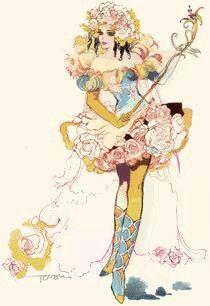 Princess White Rose, SaGa Frontier by Tomomi Kobayashi