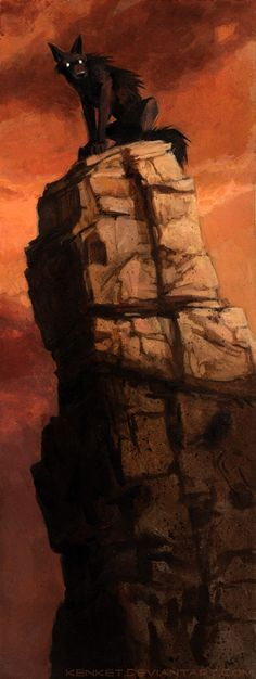 Stack by kenket lone wolf dog hound  monster beast creature animal | Create your own roleplaying game material w/ RPG Bard: www.rpgbard.com | Writing inspiration for Dungeons and Dragons DND D&D Pathfinder PFRPG Warhammer 40k Star Wars Shadowrun Call of Cthulhu Lord of the Rings LoTR + d20 fantasy science fiction scifi horror design | Not Trusty Sword art: click artwork for source