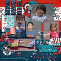 Layout using {Stars and Stripes} Digital Scrapbook Collection by LDrag Designs http://www.thedigichick.com/shop/Stars-and-Stripes-Collection-by-LDrag-Designs.html
