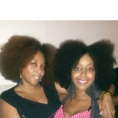 Rocking our fro's