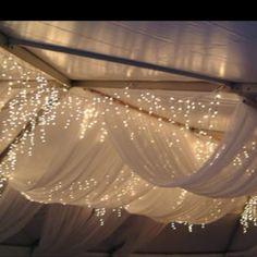 Tent drapery! Looovvvve it
