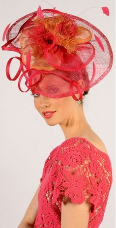 H1423HPO Melbourne Cup Fashion, Headdress, Fascinator, Dragon, Modern, Dresses, Vestidos, Trendy Tree, Fascinators